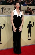 Actor Amy Landecker attends the 24th Annual Screen Actors Guild Awards at The Shrine Auditorium on January 21, 2018 in Los Angeles, California. Picture: Frederick M. Brown/Getty Images