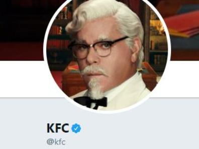 KFC's Twitter account is getting a lot of love today.