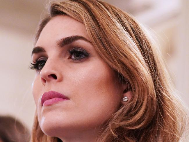 White House Communications Director Hope Hicks announced her resignation last week in the latest of a string of departures from the White House. Picture: Mandel Ngan/AFP
