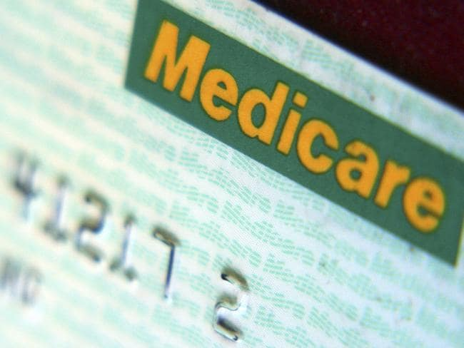 Close up view of a medicare card. Picture: Publishing Ingram