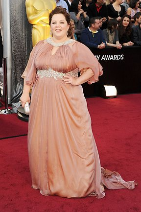 Actress Melissa McCarthy arrives at the 84th Annual Academy Awards on February 26, 2012. Picture: Jason Merritt/Getty Images