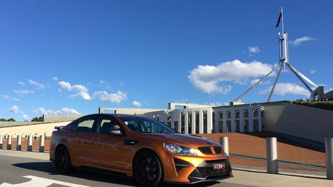 Capital idea: HSV GTSR W1 in the ACT.