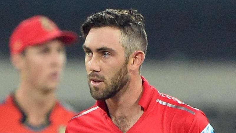 Glenn Maxwell did not think much of a question put to him by an IPL journalist.