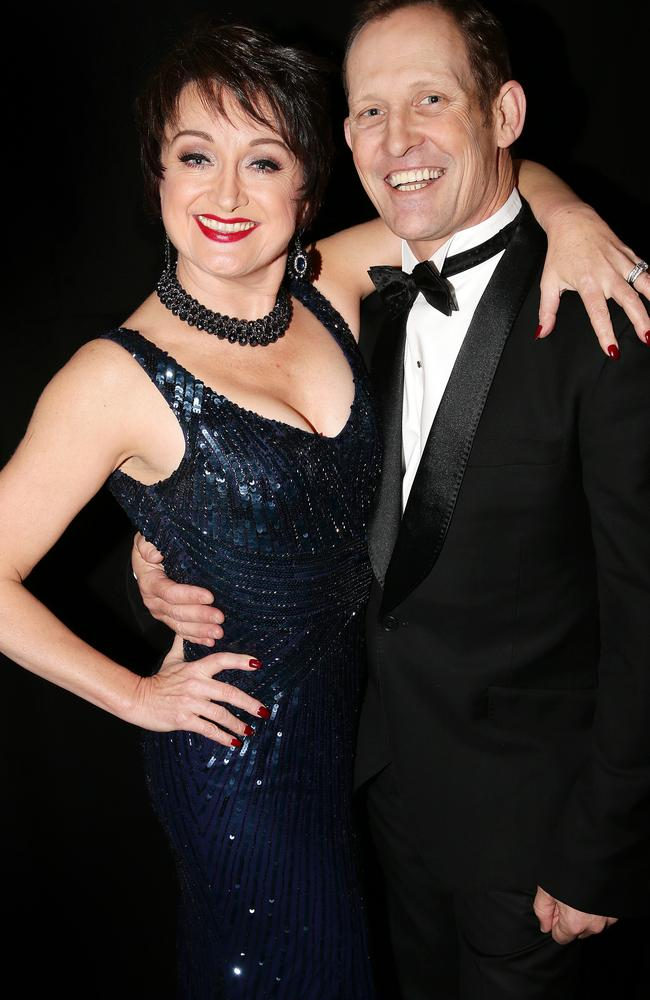 Caroline O'Connor and Todd McKenney from Anything Goes