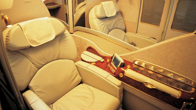 Frequent flyer points might get you into first class. Eventually.