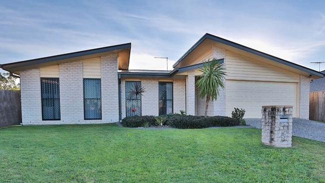 A home at 14 Telopea Place, Morayfield, Queensland will be auctioned on August 3. Picture: realestate.com.au