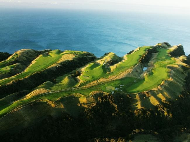 Cape Kidnappers Golf Course 14th, 15th and 16th holes.