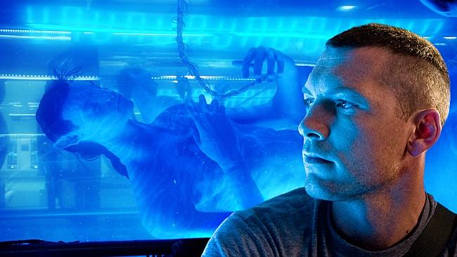 Actor Sam Worthington in a scene from 2009 film 'Avatar'.