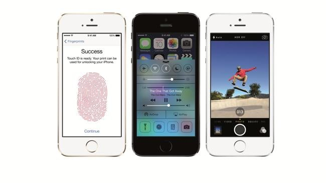 Apple released the iPhone 5s in Australia last month.