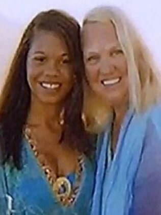 Heather Mack, 19, and Sheila von Weise Mack in happier times. Picture: NBC