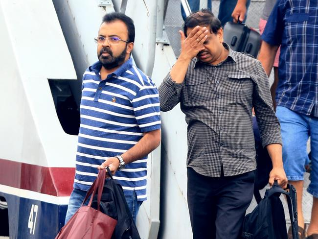 Nightmare ... Myuran Sukumaran's family lands in Jogjakarta. Picture: Adam Taylor