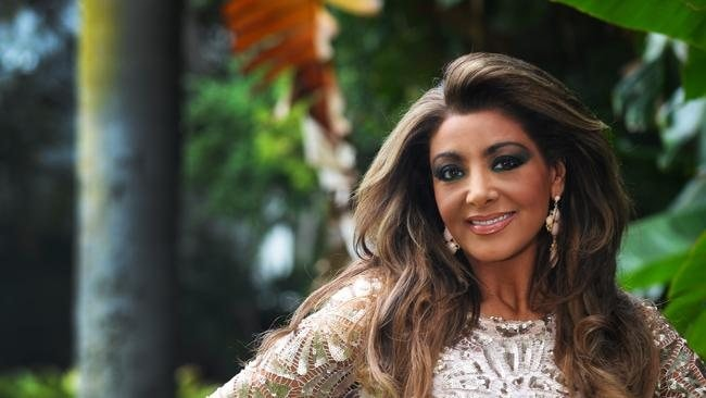 A barrister ... Gina Liano of The Real Housewives of Melbourne.