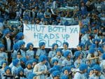 Blatchy's Blues send Queensland a subtle message. pic Mark Evans