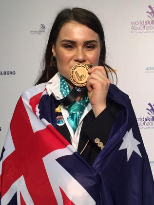 NSW's Lily Campbell earned bronze for beauty. Picture: Monique Hore
