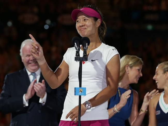 Retired Chinese tennis player Li Na is a household name around the world.