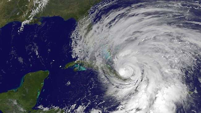 Hurricane Sandy is being labelled a 'Frankenstorm' by forecasters, an unusual nasty mix of a hurricane and a winter storm.