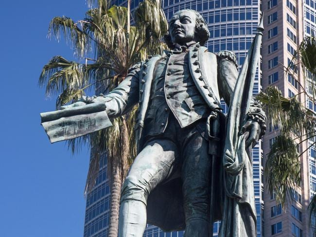 Statue of Captain Arthur Phillip could be pulled down.