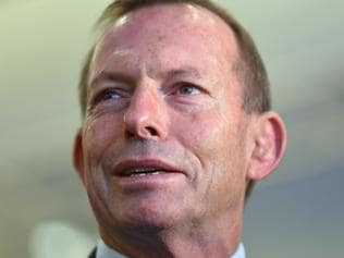 Former Australian Prime Minister Tony Abbott attends the Coalition Campaign Launch in Sydney, Sunday, June 26, 2016. A federal election will be held in Australia on Saturday July 2. (AAP Image/Lukas Coch) NO ARCHIVING