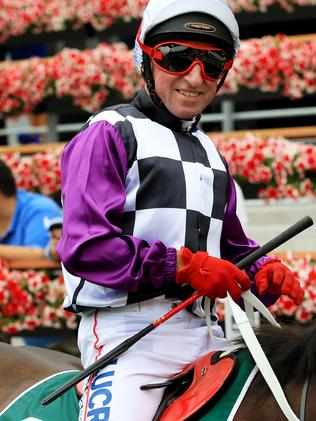 Jimmy Cassidy will ride Hawkspur on Saturday. Picture: Mark Evans