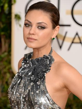 At the Golden Globes in Jan.