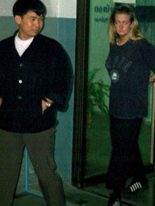Lisa Marie Smith following her arrest in Thailand.