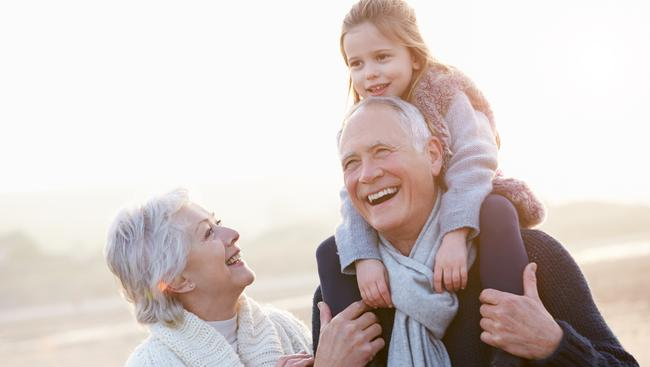 Most parents said they favoured the youngest child, while grandparents favoured the eldest. Picture: iStock