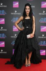 Jane Gazzo pictured arriving at the 2017 ARIA Awards held at The Star in Pyrmont in Sydney. Picture: Richard Dobson