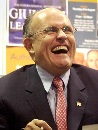 Former New York mayor, Rudolph Giuliani. Picture: News Corp Australia