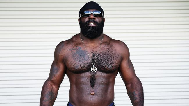 American UFC and boxing sensation Kimbo Slice.