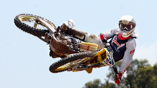 Motocross rider Chad Reed is a world champion and a huge name in the US.