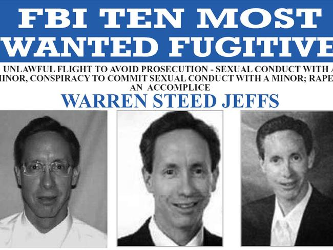 warren jeffs a wanted man essay As an infamous religious leader, warren jeffs had the ability to gain people's trust and loyalty he influenced many by exerting his power and authority in brainwashing individuals with religion his home base is located in the utah-arizona area, where he is known to have about 40 wives and 56.