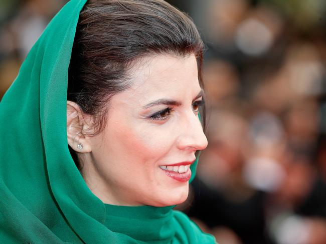 "Some Iranians called her presence at Cannes ""inappropriate."""