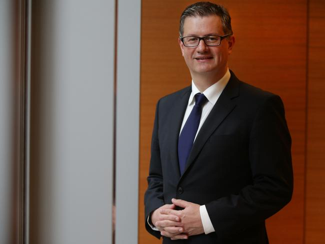 NAB chief customer officer for consumer banking Andrew Haggar.