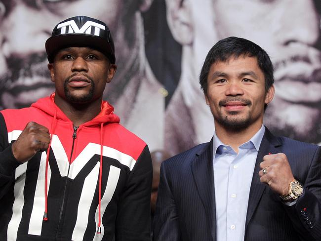 Pacquiao mayweather fight date in Sydney