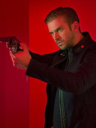 Flop ... Dan Stevens as David in the forgettable movie The Guest. Picture: Supplied