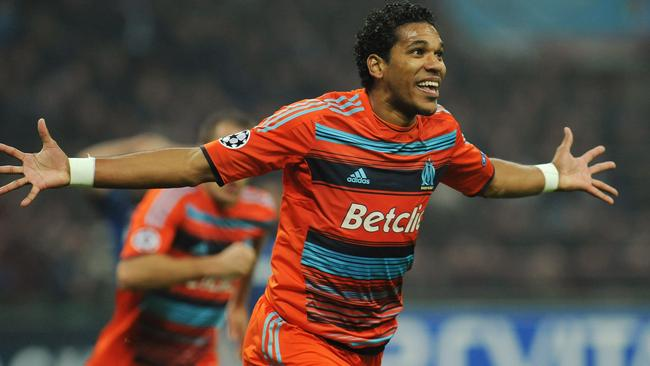 Brandao during his time at Olympique de Marseille. The striker is facing a big ban for his attack.