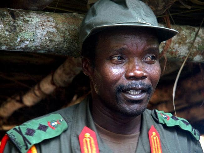 African Union troops are predicting Kony will be captured soon. Picture: AP