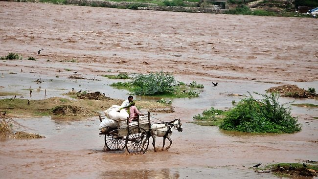 India flash floods