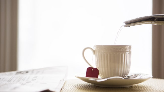A cup of tea. Photo: iStock