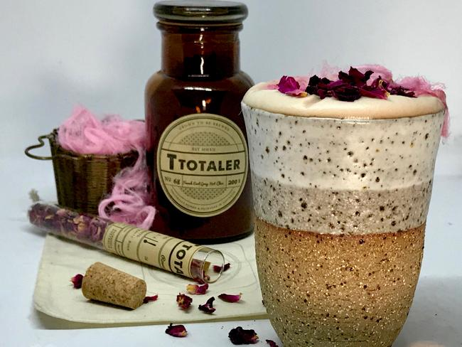 The T Totaler's French Earl Grey tea hot chocolate. Picture: Jenifer Jagielski