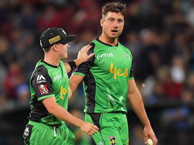 The Stars will miss Marcus Stoinis.