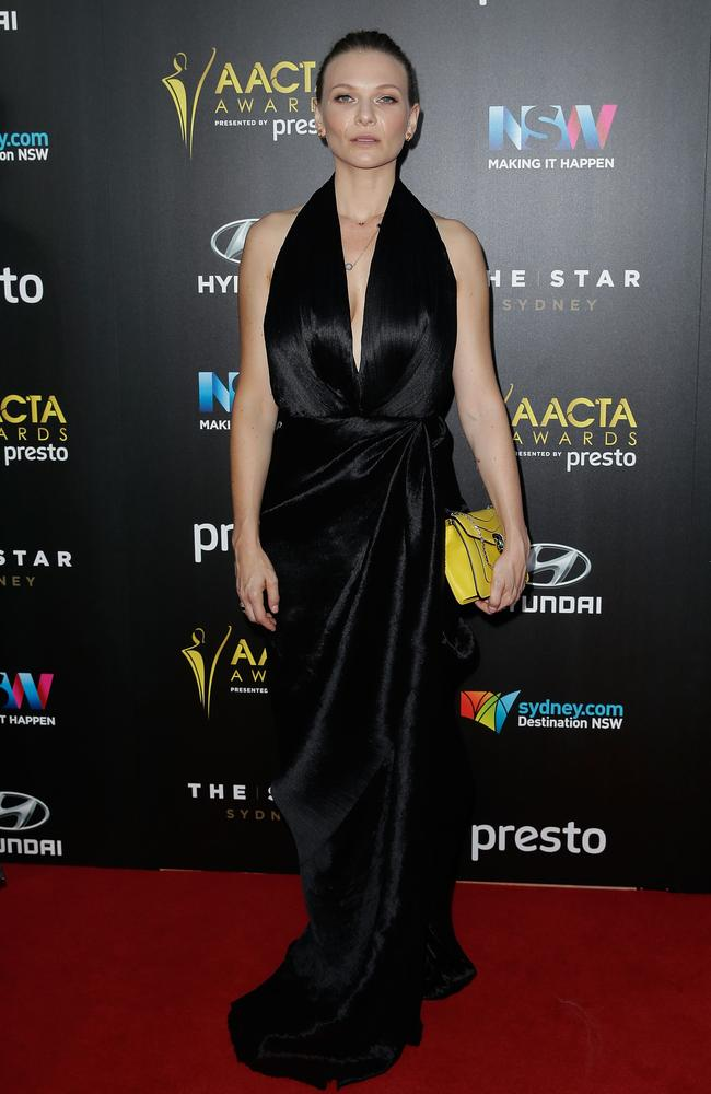 Leeanna Walsman arrives ahead of the 5th AACTA Awards Presented by Presto at The Star on December 9, 2015 in Sydney, Australia. Picture: Getty