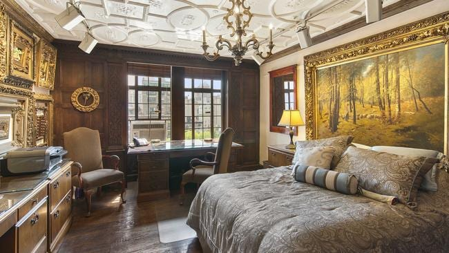 The apartment at 44 Gramercy Park North, has a touch of the Tudor about it. Picture: Warburg Realty.