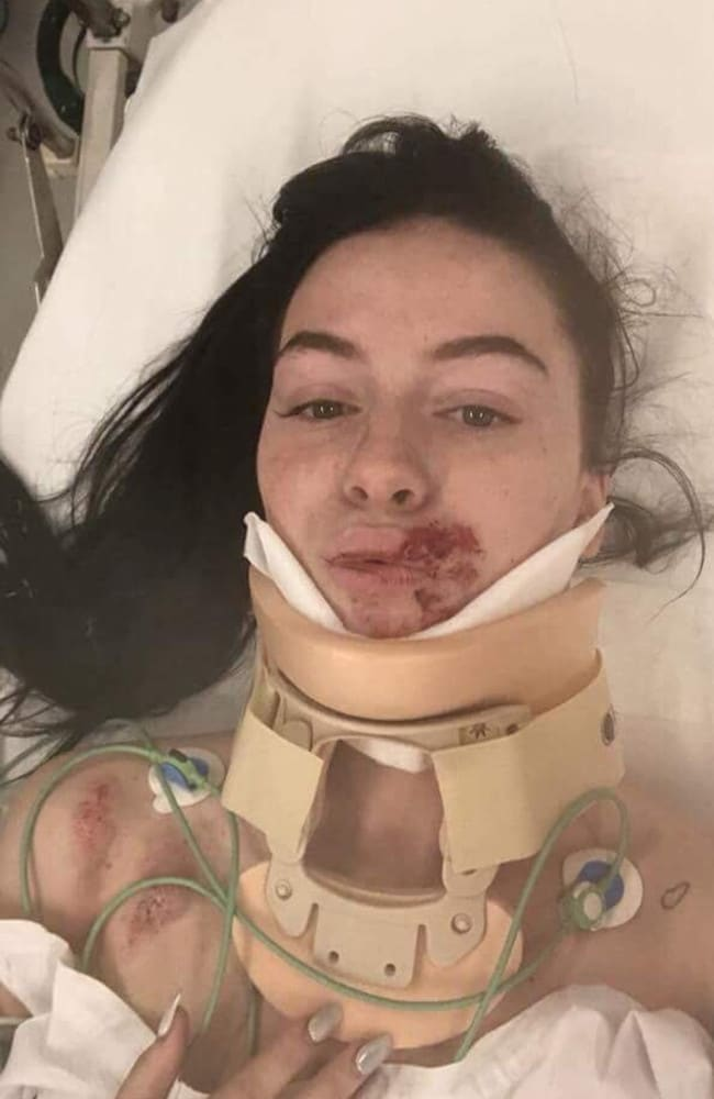 Frankston carjacking victim Taylor Hall. Picture: Facebook