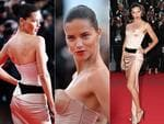 Adriana Lima walks the red carpet at the Cannes International Film Festival 2014. Pictures: Getty