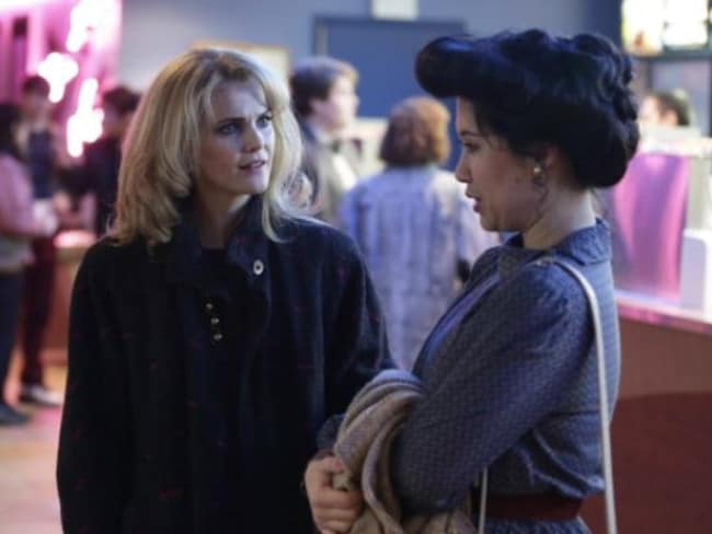 Ruthie Ann Miles and Keri Russell in 'The Americans'. Photo: Supplied