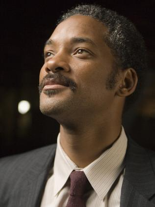 Will Smith as Chris Gardner.