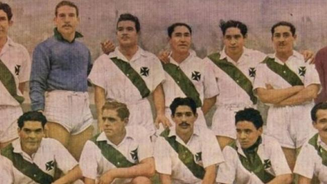 The Green Cross team of 1961.