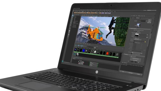 HP'S ZBook 17 G4 is a mobile workstation rather than a laptop.
