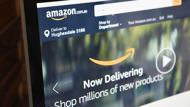 The massive online retailer launched in Australia last week. Picture: Quinn Rooney/Getty Images